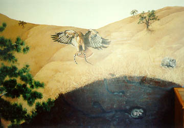 Interpretive Center Mural